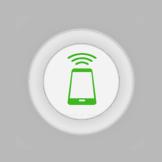Icono antena RFID corta distancia