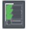 Icono inventario RFID y logística RFID